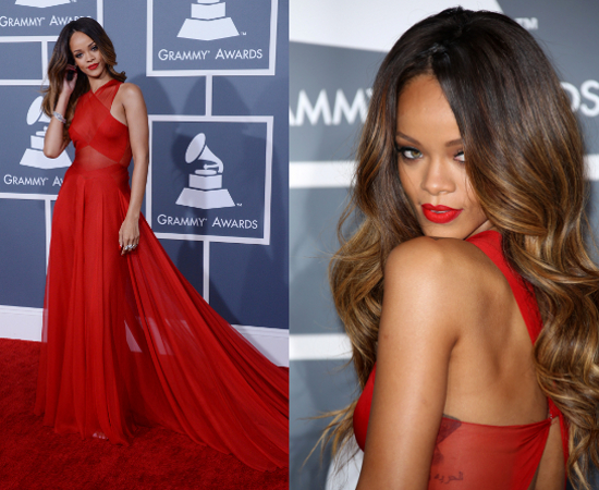 Rihanna-en-live-au-Grammy-2013-en-couple-avec-Chris-Brown-sur-le-tapis-rouge-PHOTOS-et-VIDEO