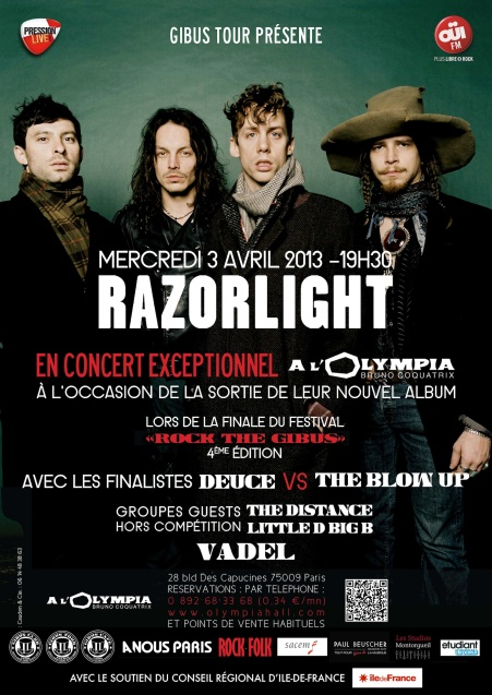 affiche razorlight vadel