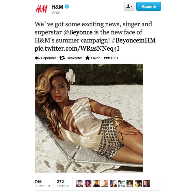 Beyoncé-twitt