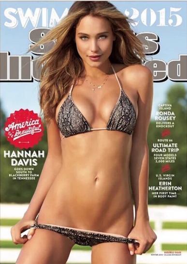 Hannah Davis wears Indie Soul  Bikini  - Imara Medias
