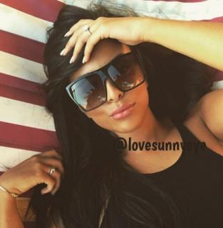 Love Sunny Eyes - Lunettes de soleil