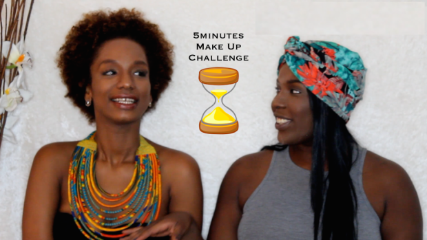 "Bloggers collab : ""My 5 minutes Make Up Challenge"" with Xo,Chrisse (video)"