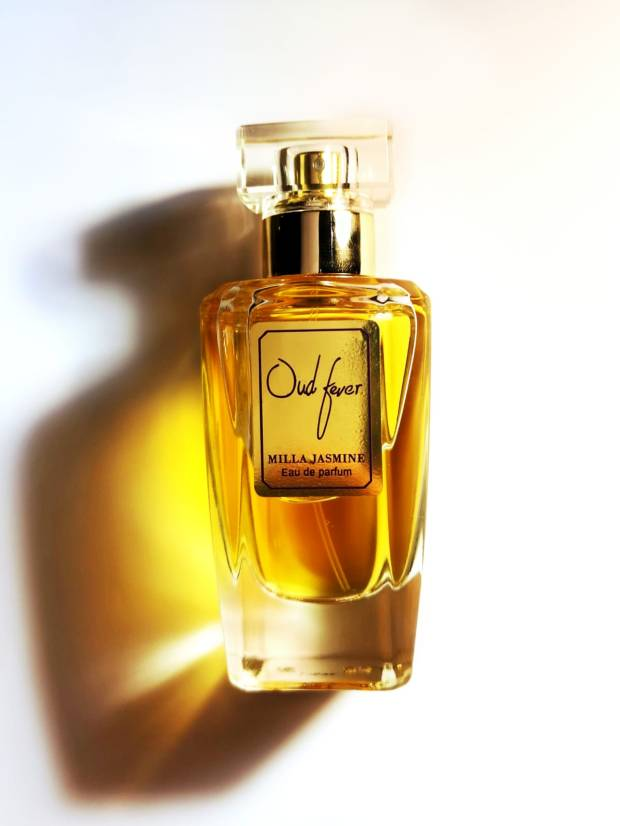 OUD FEVER By Milla Jasmine : Bergamot & Red Fruits |  Red Rose | Oud , Santal & Patchouli